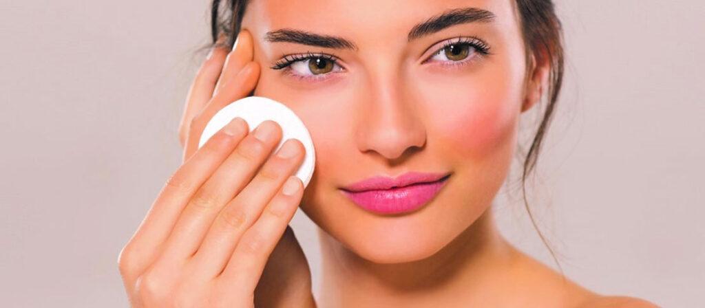 routine nettoyage visage